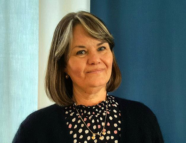 Harvinaiset-verkoston vuoden 2021 puheenjohtaja Kristina Franck.
